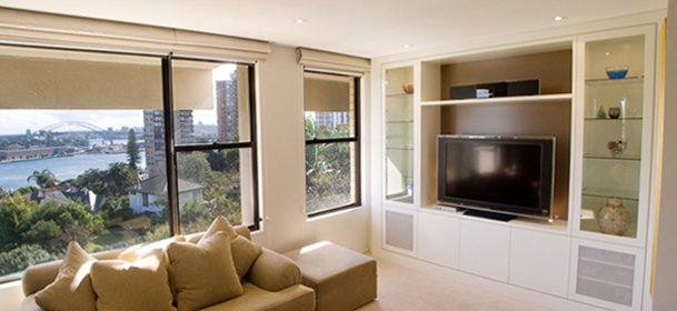 An inner city project at a Darling Point apartment