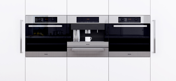 Miele Kitchen Appliances arranged in a grid