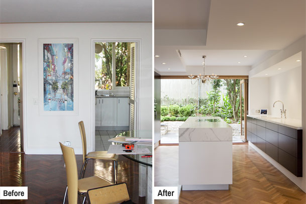 Kitchens, Before and After Gallery Image