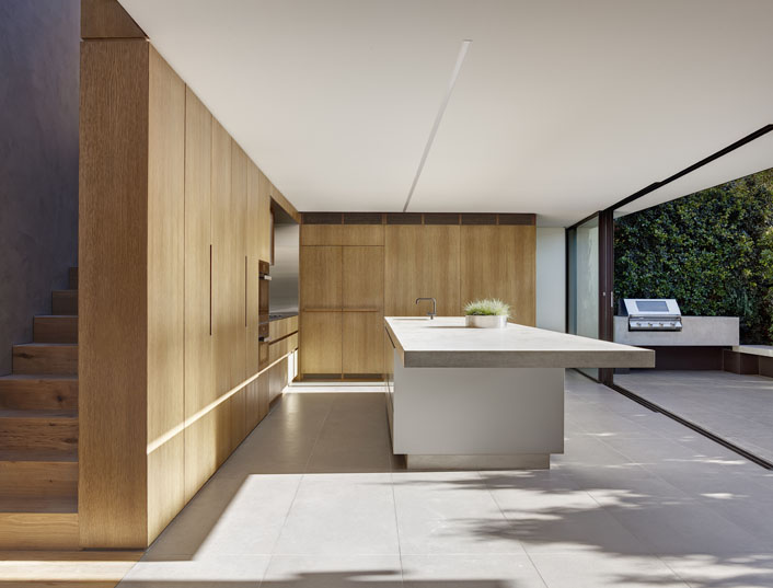 Simple and elegant kitchen design - Tiled Elements In This Most Subtle And Elegant Inner West Residence