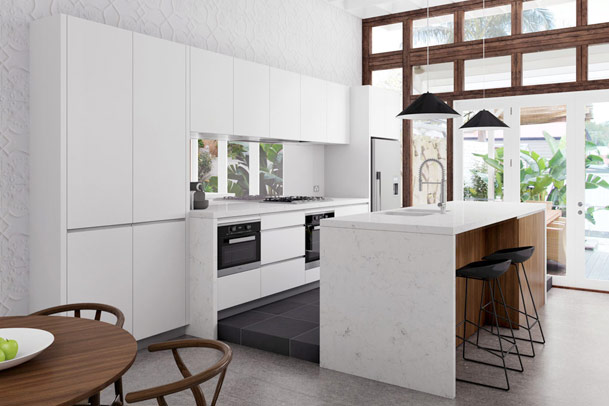 Contemporary kitchen designs from sydney 39 s top studio for Kitchen showrooms sydney west