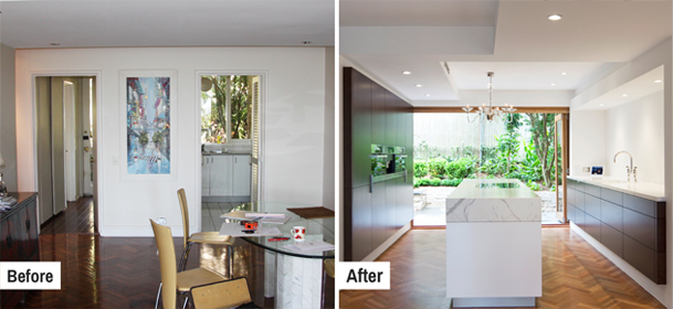 Before and After Gallery of Kitchen Renovations