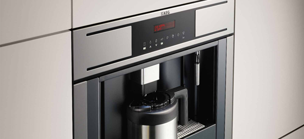 AEG built in kitchen coffee machine