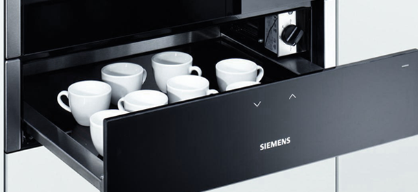 Siemens Appliances - warming drawer under oven