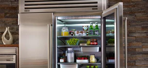 Sub-Zero Professional Side By Side refrigerator