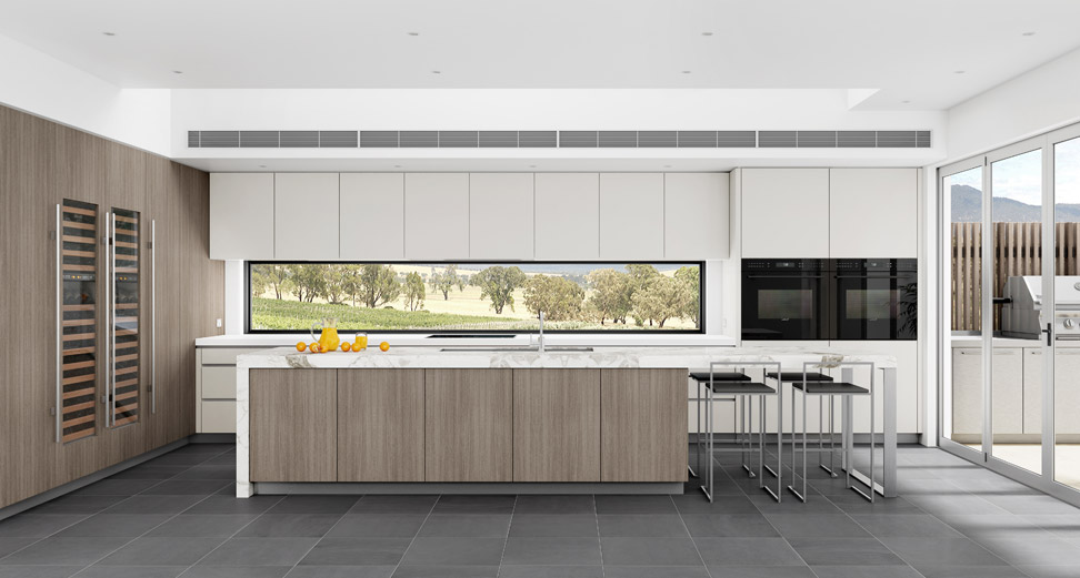 Luxury designer kitchens in sydney dan kitchens for Modern kitchen design australia