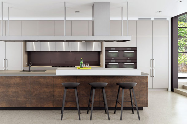 Custom Kitchens Gallery, Modern Industrial Kitchen Image