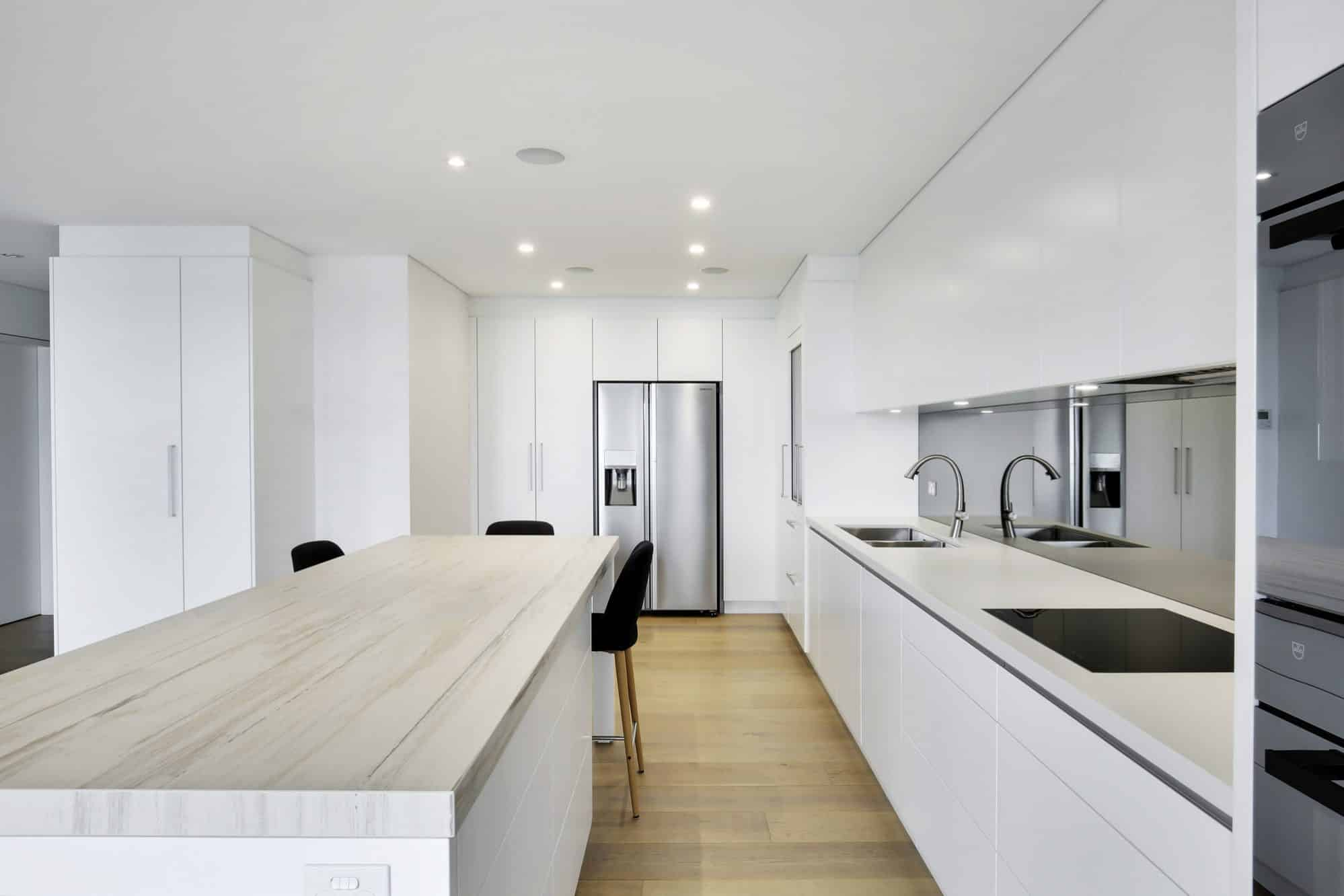 A sharp looking kitchen