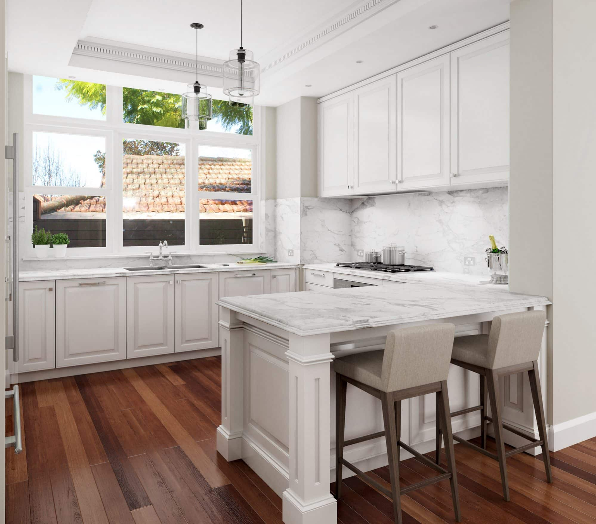 Hamptons Style Luxury Kitchen Design | Kitchen Design ...