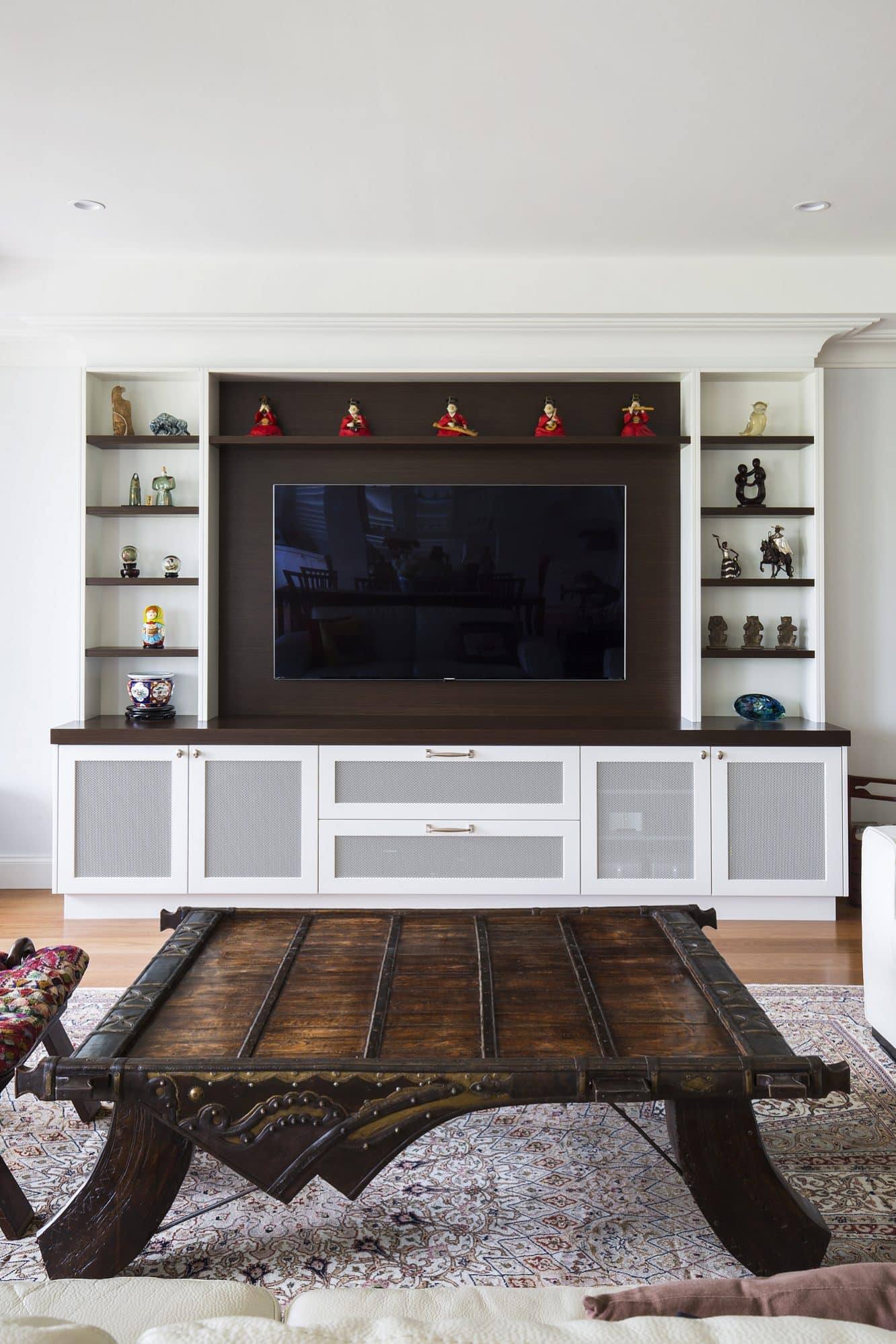 The matching TV unit