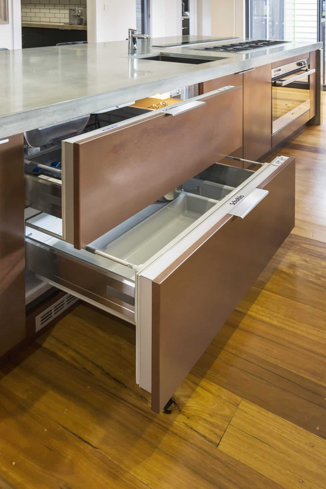 Fridge and freezer drawers from Scholtes