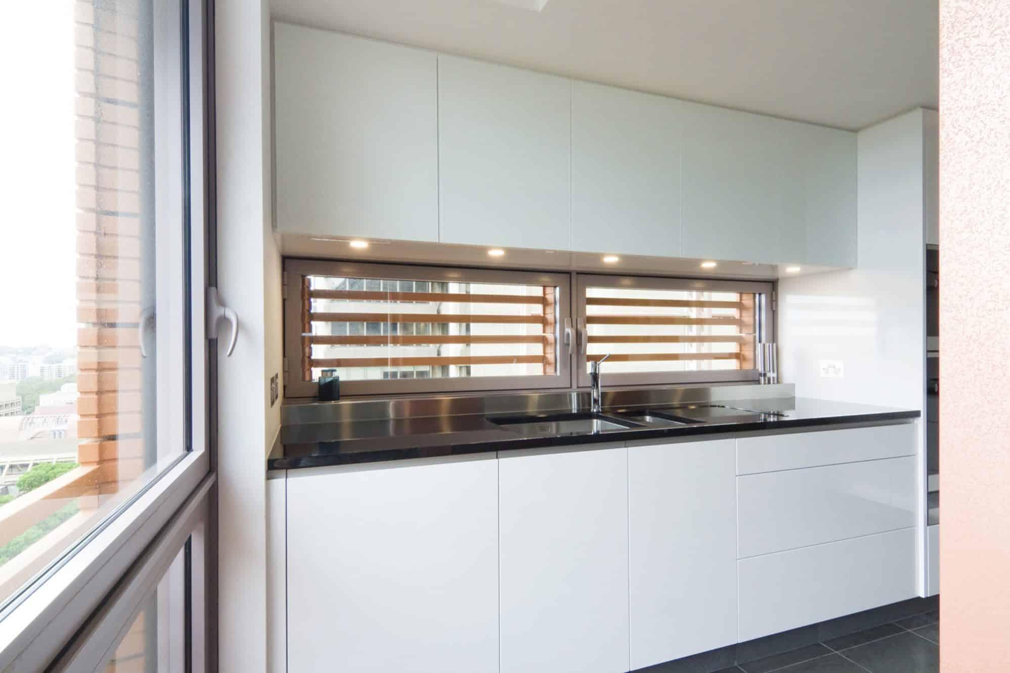 Bespoke apartment kitchen