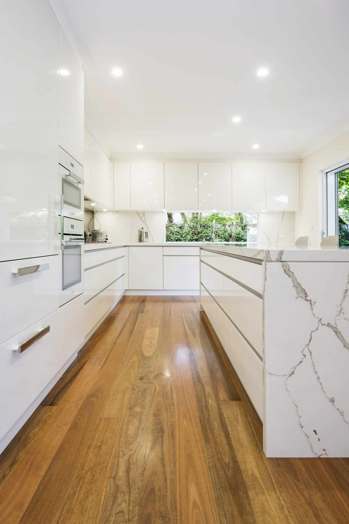 Wahroonga Kitchen galley shot