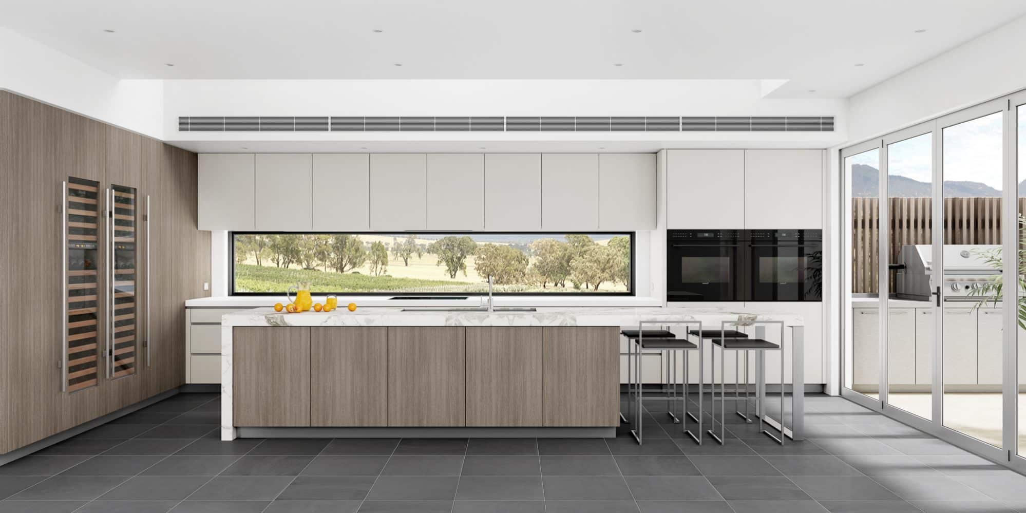 A Luxurious kitchen for a home in the Hunter Valley